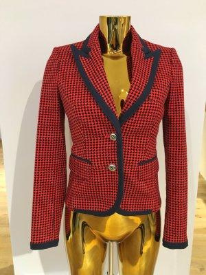 Juicy Couture Blazer rot-blau kariert