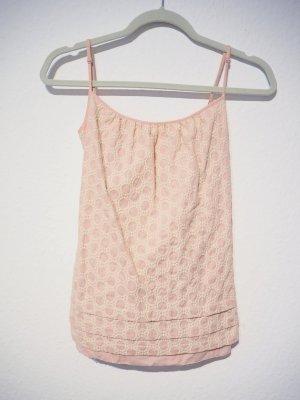 Juicy Couture Top de tirantes rosa empolvado-rosa Algodón