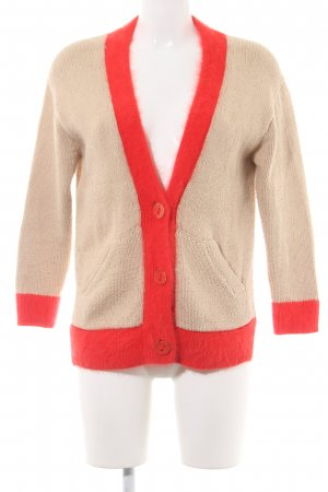 Juicy Couture Cardigan wollweiß-rot Casual-Look