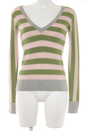 Juicy Couture Pull en cashemire motif rayé style athlétique