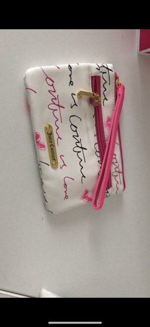 Juicy Couture Bolso de mano blanco-rosa