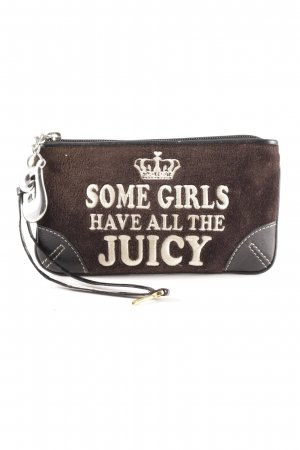 Juicy Couture Borsa clutch nero-argento stile casual