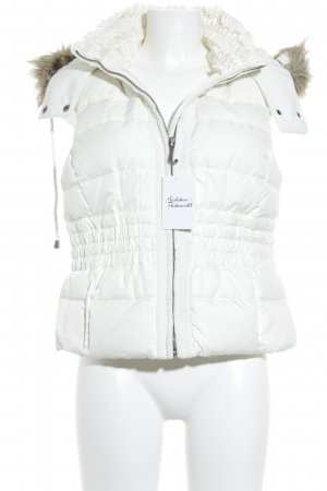 Juicy Couture Donsvest wit casual uitstraling