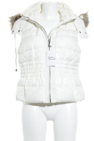 Juicy Couture Daunenweste weiß Casual-Look