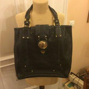 Juicy Couture Echtleder Handtasche mit gold Tragespuren