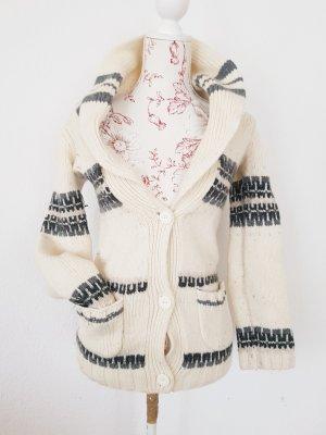 Juicy Couture Fair Isle Cardigan Strickjacke zum knoten winter Weihnachten