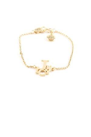 Juicy Couture Goldarmschmuck goldfarben Casual-Look
