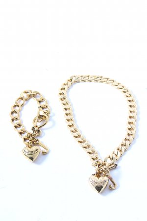 Juicy Couture Necklace gold-colored street-fashion look