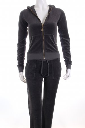 Juicy Couture Hausanzug grau Casual-Look