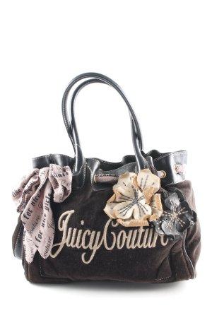 Juicy Couture Henkeltasche Motivdruck extravaganter Stil