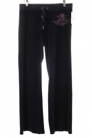 Juicy Couture Hose dunkelblau extravaganter Stil