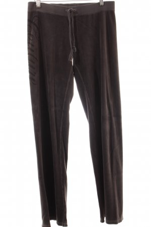 Juicy Couture Hose dunkelgrau extravaganter Stil
