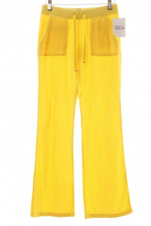 Juicy Couture Hose gelb Casual-Look