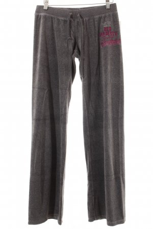 Juicy Couture Hose grau extravaganter Stil