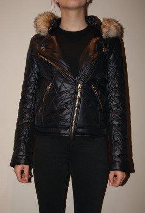 Juicy Couture Gewatteerd jack zwart Polyamide