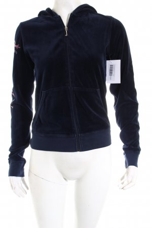 Juicy Couture Jacke dunkelblau extravaganter Stil