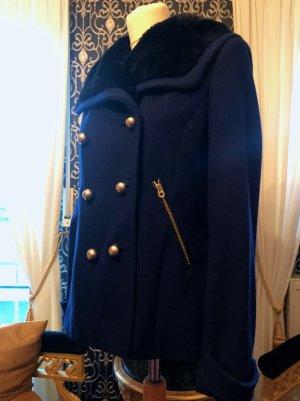 Juicy Couture Wool Jacket blue wool