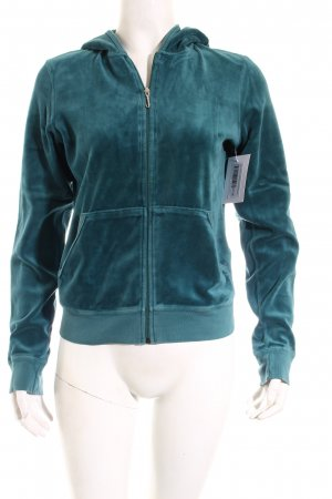 Juicy Couture Jacke petrol extravaganter Stil