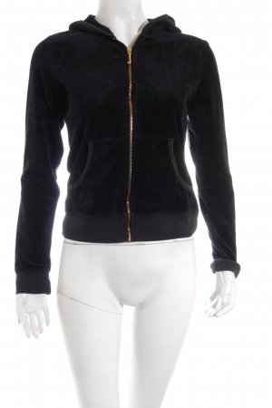 Juicy Couture Jacke schwarz extravaganter Stil