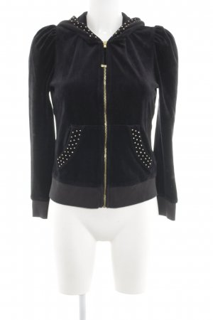 Juicy Couture Kapuzenjacke schwarz Casual-Look