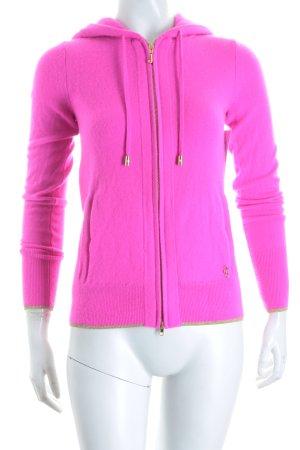 Juicy Couture Kapuzenjacke pink sportlicher Stil