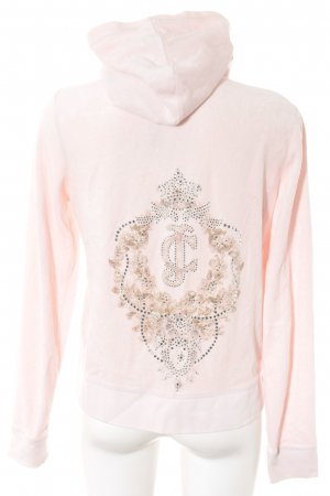 Juicy Couture Kapuzenjacke rosé extravaganter Stil