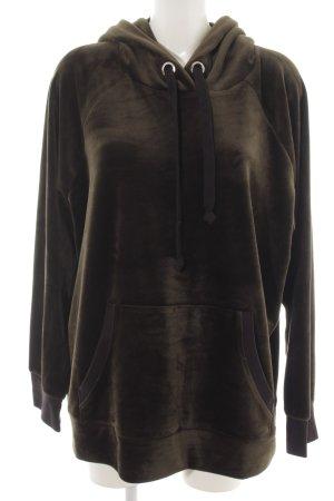 Juicy Couture Jersey con capucha marrón estilo deportivo