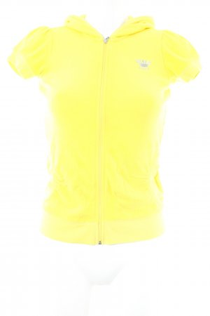 Juicy Couture Hooded Shirt yellow-silver-colored casual look