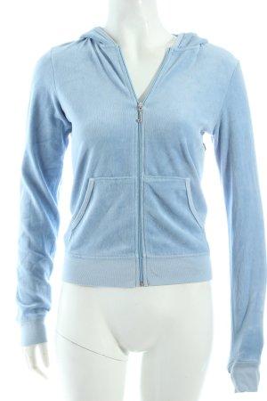 Juicy Couture Kapuzensweatshirt hellblau sportlicher Stil