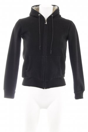 Juicy Couture Kapuzensweatshirt schwarz Casual-Look