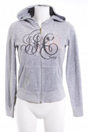 Juicy Couture Hooded Vest light grey casual look