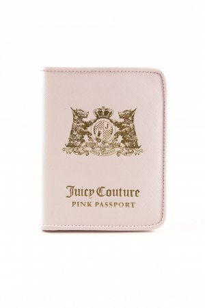 Juicy Couture Porte-cartes rose clair style mode des rues