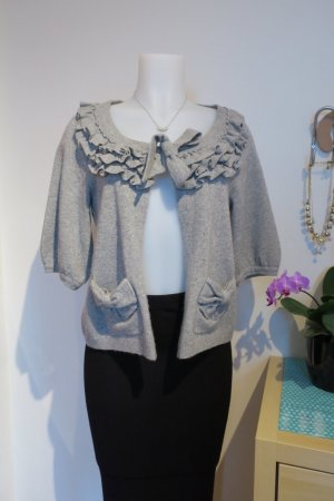 Juicy Couture Cardigan all'uncinetto argento