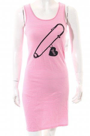 Juicy Couture Kleid pink-rosa Streifenmuster Beach-Look