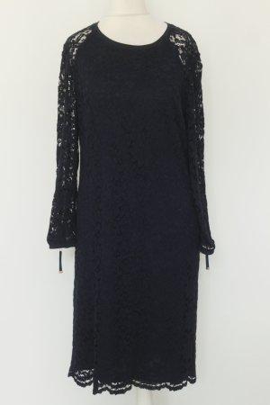 Juicy Couture Kleid Spitzenkleid Gr. S dunkelblau