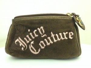 Juicy Couture Kosmetiktasche braun