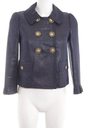 Juicy Couture Kurz-Blazer blau Business-Look