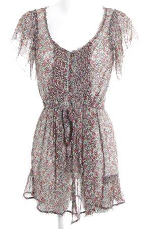 Juicy Couture Kurzarmkleid florales Muster schlichter Stil