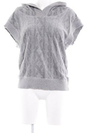 Juicy Couture Jersey de manga corta gris claro punto trenzado look casual