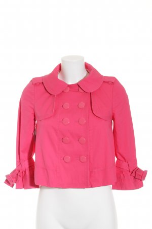 Juicy Couture Kurzjacke magenta-wollweiß Casual-Look