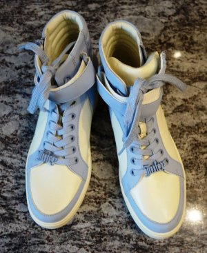 Juicy Couture High Top Sneaker white-azure