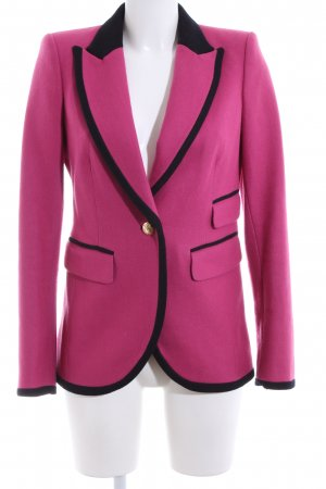 Juicy Couture Long-Blazer pink-schwarz Casual-Look