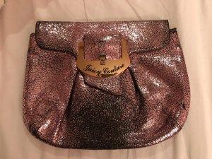 Juicy Couture Clutch neonroos-goud Leer