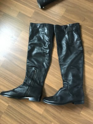 Juicy Couture Overknees Gr. 40 schwarz