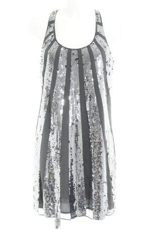 Juicy Couture Abito con paillettes grigio scuro-argento stile metallico