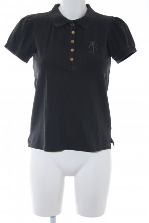 Juicy Couture Polo-Shirt anthrazit Casual-Look