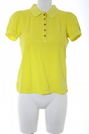 Juicy Couture Polo-Shirt neongelb sportlicher Stil