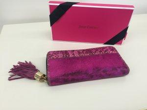 Juicy Couture Portemonnaie Geldbörse Ponyfell Pink Gebraucht USA Original