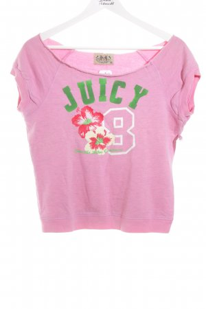 Juicy Couture Pullunder rosa sportlicher Stil