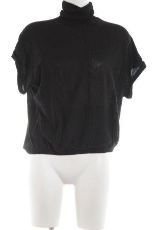 Juicy Couture Rollkragenpullover schwarz schlichter Stil
